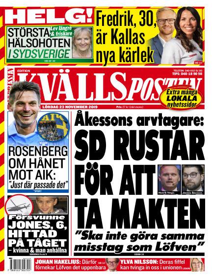 Kvällsposten November 23, 2019 00:00