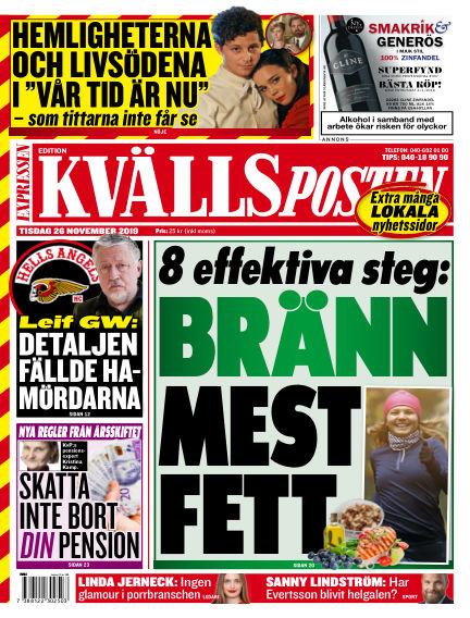 Kvällsposten November 26, 2019 00:00