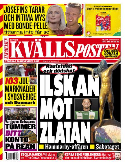 Kvällsposten November 28, 2019 00:00