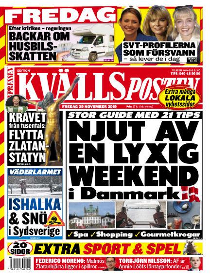 Kvällsposten November 29, 2019 00:00