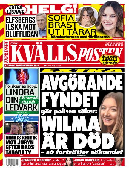 Kvällsposten November 30, 2019 00:00
