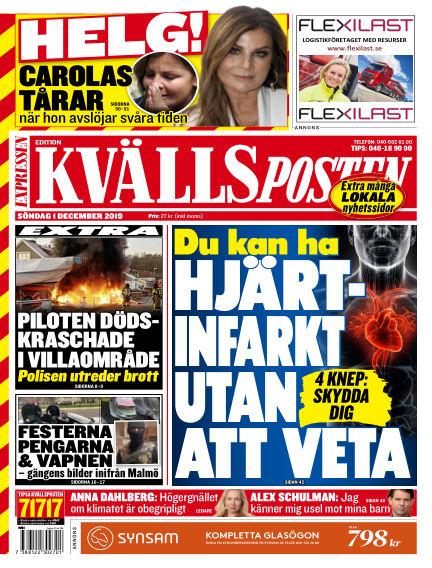 Kvällsposten December 01, 2019 00:00