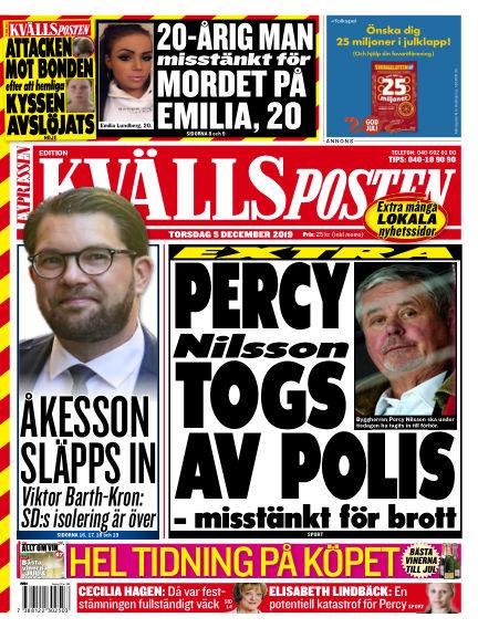 Kvällsposten December 05, 2019 00:00