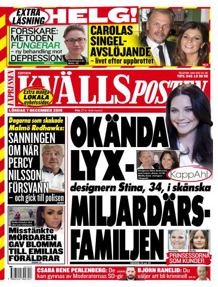 Kvällsposten December 07, 2019 00:00