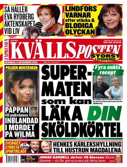 Kvällsposten December 09, 2019 00:00