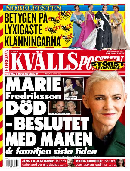 Kvällsposten December 11, 2019 00:00