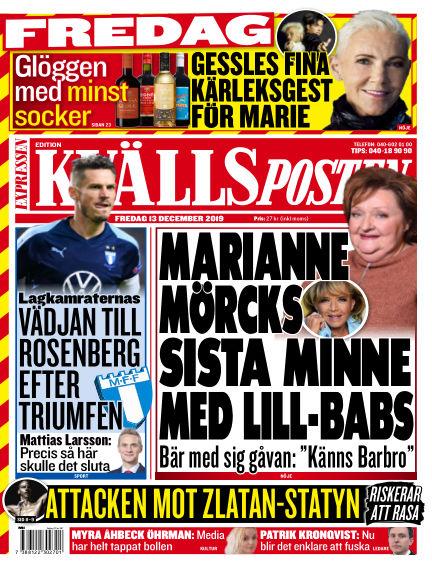 Kvällsposten December 13, 2019 00:00