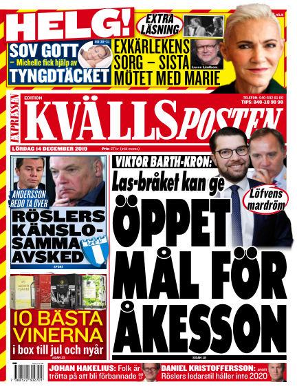 Kvällsposten December 14, 2019 00:00
