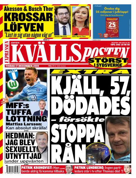 Kvällsposten December 17, 2019 00:00