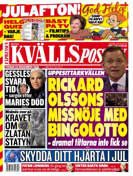Kvällsposten December 24, 2019 00:00