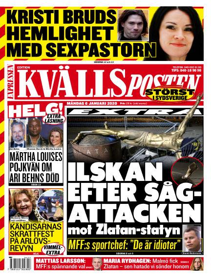 Kvällsposten January 06, 2020 00:00