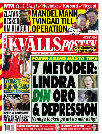 Kvällsposten January 07, 2020 00:00