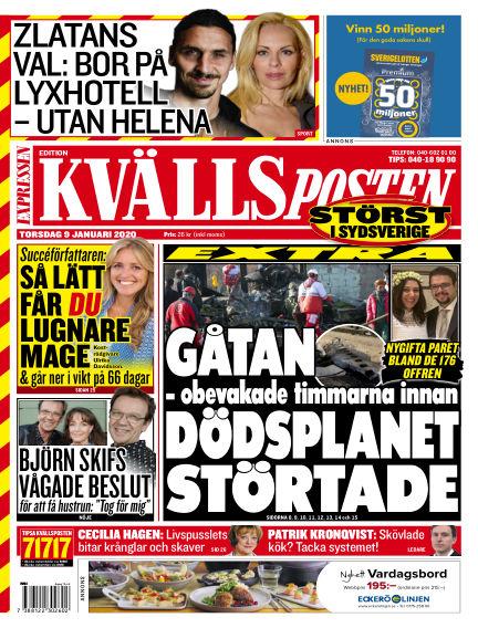Kvällsposten January 09, 2020 00:00