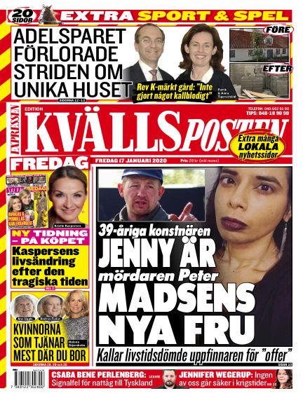 Kvällsposten January 17, 2020 00:00