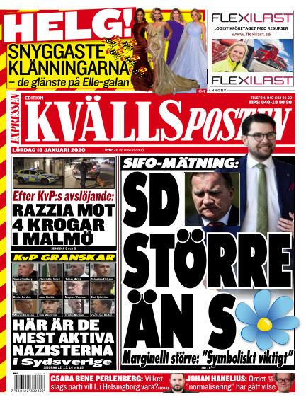 Kvällsposten January 18, 2020 00:00
