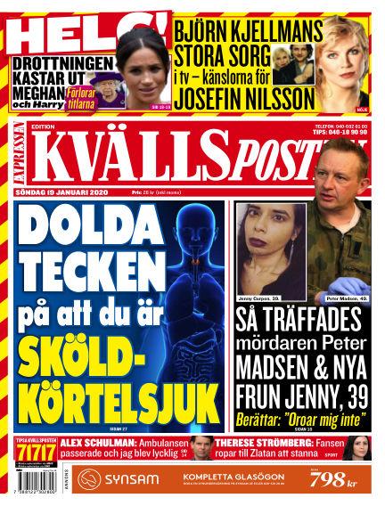 Kvällsposten January 19, 2020 00:00