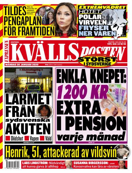 Kvällsposten January 20, 2020 00:00
