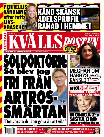 Kvällsposten January 23, 2020 00:00