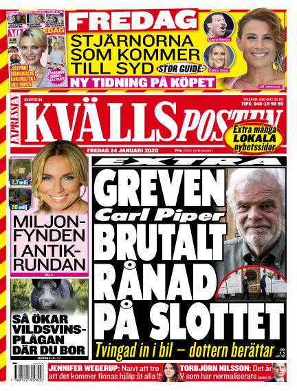 Kvällsposten January 24, 2020 00:00
