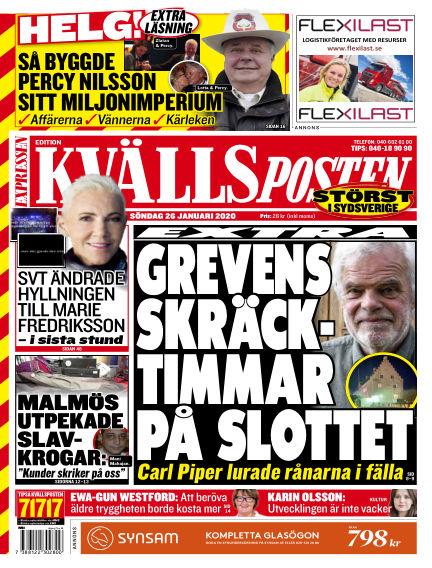 Kvällsposten January 26, 2020 00:00