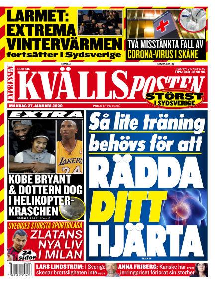 Kvällsposten January 27, 2020 00:00