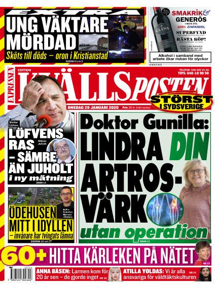 Kvällsposten January 29, 2020 00:00
