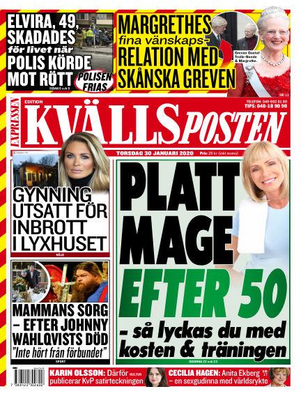 Kvällsposten January 30, 2020 00:00
