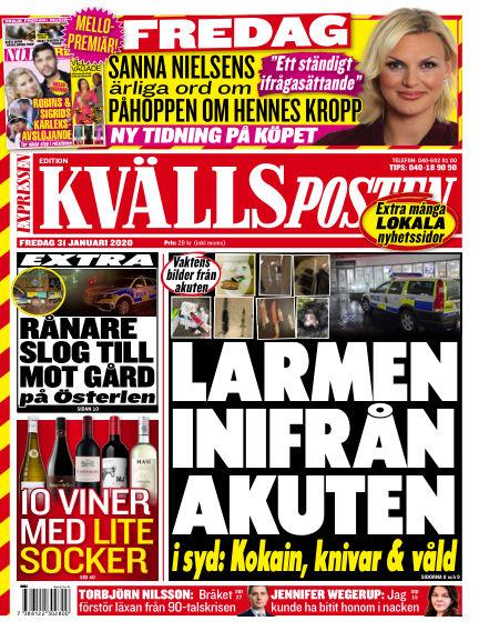 Kvällsposten January 31, 2020 00:00