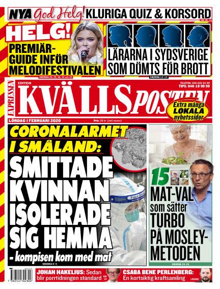 Kvällsposten February 01, 2020 00:00