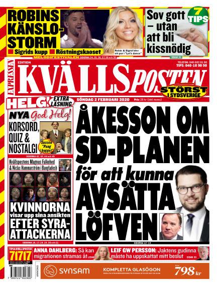 Kvällsposten February 02, 2020 00:00