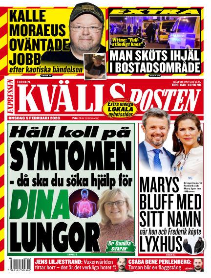 Kvällsposten February 05, 2020 00:00