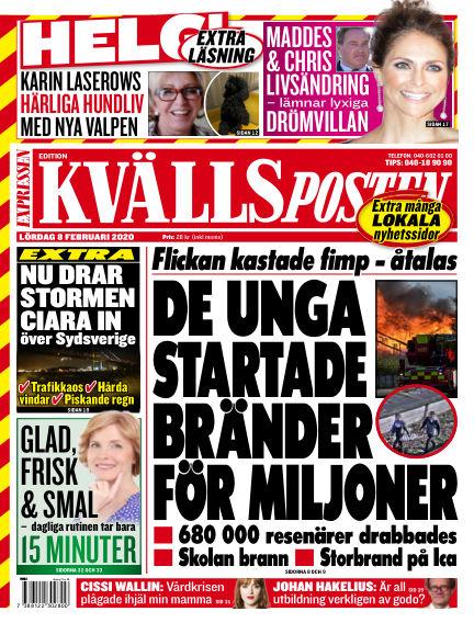 Kvällsposten February 08, 2020 00:00