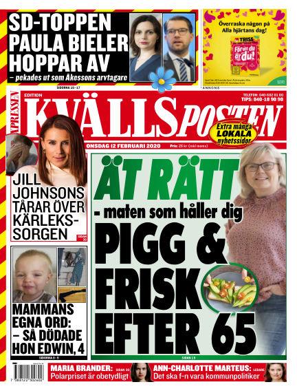 Kvällsposten February 12, 2020 00:00