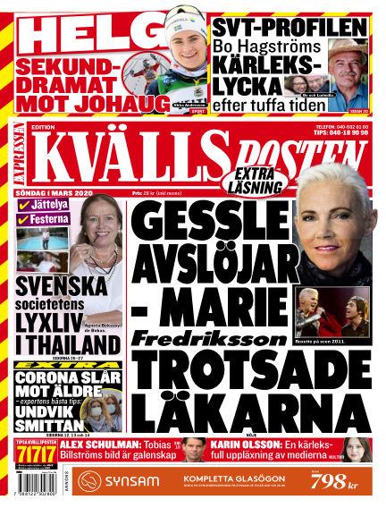 Kvällsposten March 01, 2020 00:00
