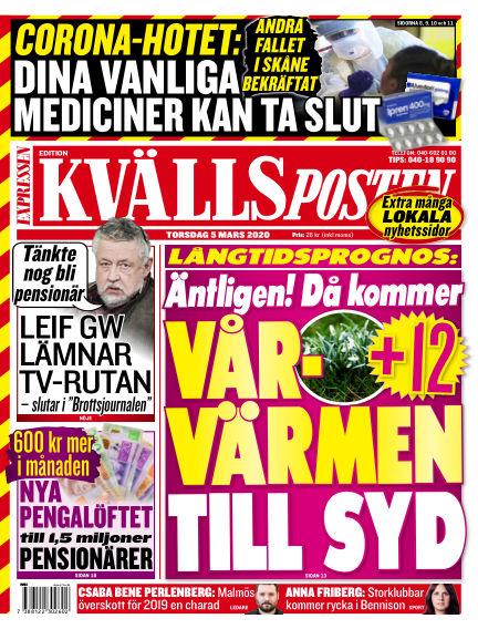 Kvällsposten March 05, 2020 00:00