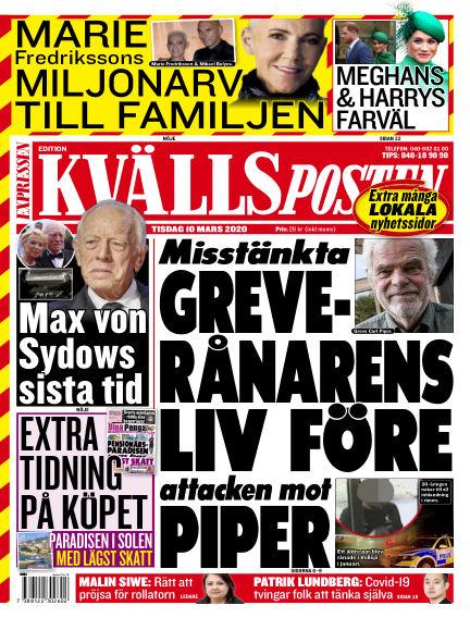 Kvällsposten March 10, 2020 00:00
