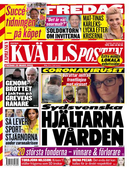 Kvällsposten March 20, 2020 00:00