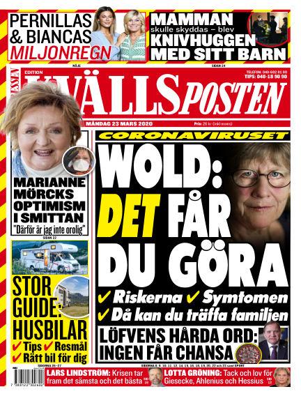 Kvällsposten March 23, 2020 00:00