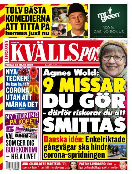 Kvällsposten March 24, 2020 00:00