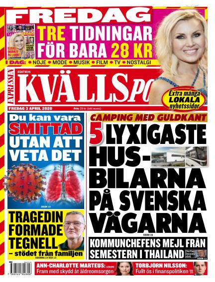 Kvällsposten April 03, 2020 00:00