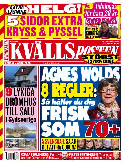 Kvällsposten April 04, 2020 00:00