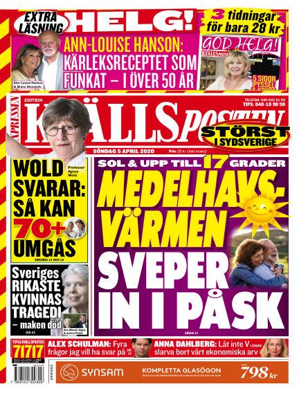 Kvällsposten April 05, 2020 00:00