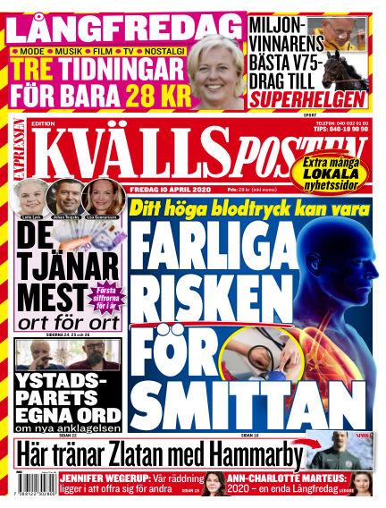 Kvällsposten April 10, 2020 00:00