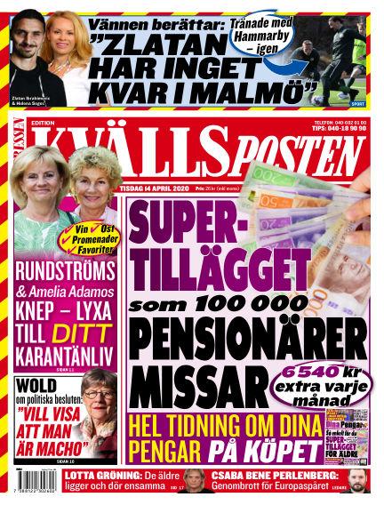 Kvällsposten April 14, 2020 00:00