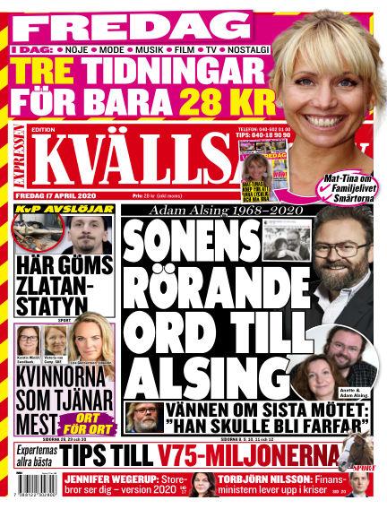 Kvällsposten April 17, 2020 00:00