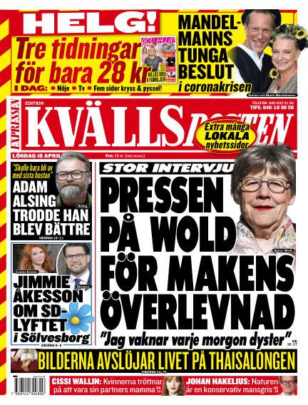 Kvällsposten April 18, 2020 00:00