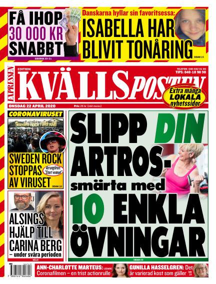 Kvällsposten April 22, 2020 00:00
