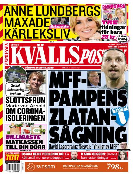Kvällsposten April 26, 2020 00:00