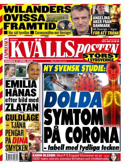 Kvällsposten April 27, 2020 00:00