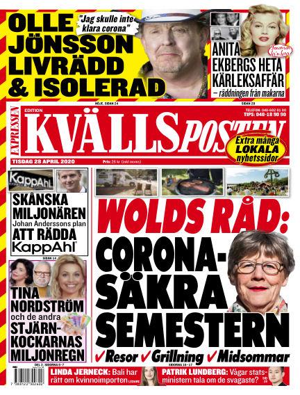 Kvällsposten April 28, 2020 00:00